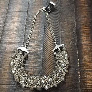 Silver INC necklace